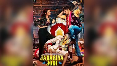 Jabariya Jodi First Poster: Parineeti Chopra and Sidharth Malhotra Are Upto No Good