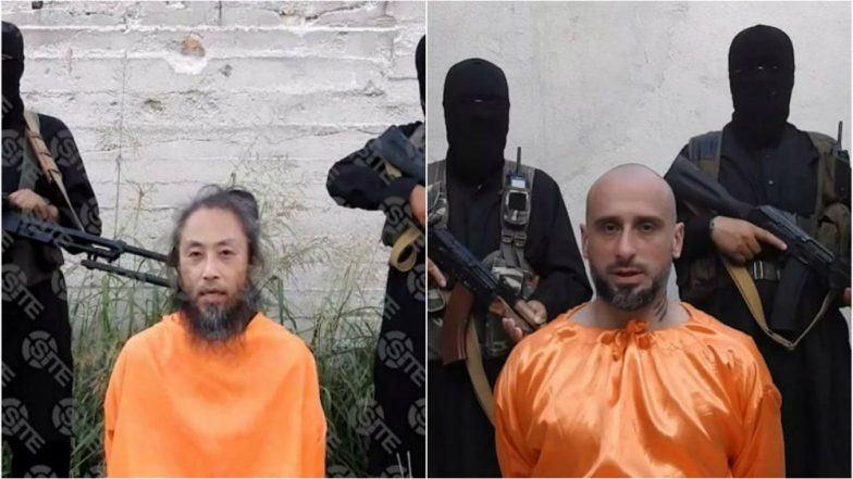 Jihadist Group Released Videos of Japanese, Italian Captives in Syria