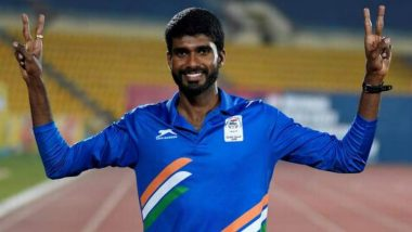 Jinson Johnson Gets the Prestigious Arjuna Award 2018
