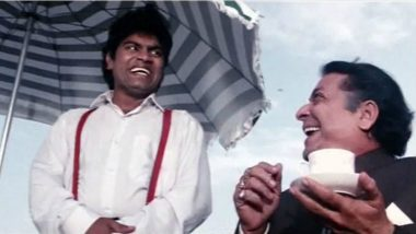 Johnny Lever Birthday Special: India's Best Comedian Turns 60, a Look at His Comedy Scene Videos That Serve As Funniest Memes on Internet!
