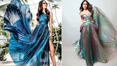 Kareena Kapoor Khan's Showstopper Dress at LFW 2018 Looks a Lot Like Her Accordion Outfit From Vogue Photo Shoot!