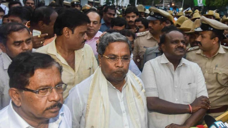 Karnataka: Siddaramaiah Shoots Another Letter to H D Kumaraswamy