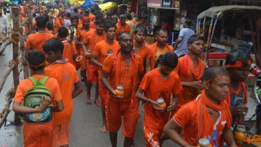 Uttar Pradesh CM Yogi Adityanath Ask Official to Shut Liquor Shops, Slaughterhouses on Kanwar Yatra Route