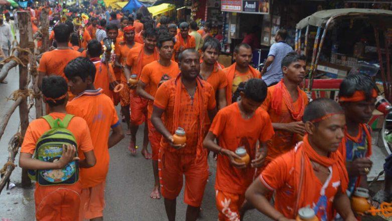 Uttar Pradesh CM Yogi Adityanath Ask Official to Shut Liquor Shops, Slaughterhouses on Kanwar Yatra Route