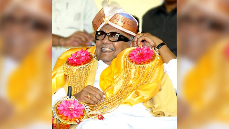 Karunanidhi: Scratches On My Mind Firm Five Years in Chennai