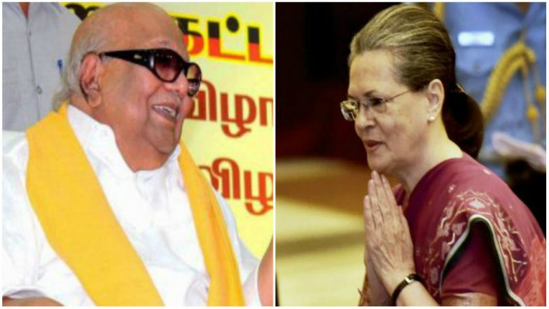 Karunanidhi Was Like Father Figure, Very Kind, Says Sonia Gandhi