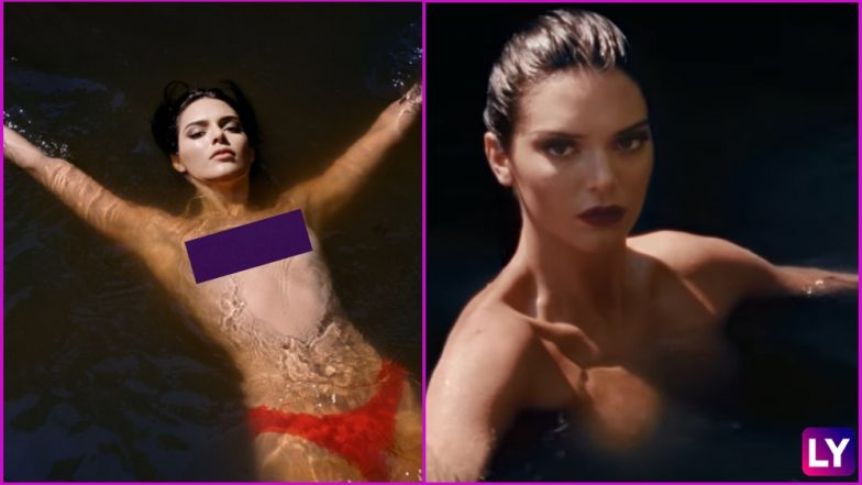 Kendall Jenner Frees Her Nipples Yet Again! Fully Topless Photos and Video of Model for Love Magazine Are NSFW