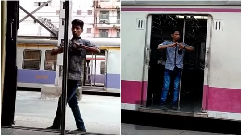 Kiki Challenge in Mumbai Local Train! Central Railways Call for Probe Against the Youth After Video of 'Stunt' Goes Viral