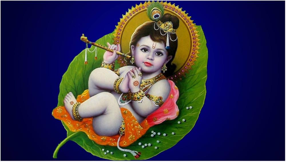 Krishna Janmashtami 2018 HD Images & Wallpapers of Bal Gopal