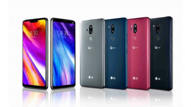 LG G7+ ThinQ Premium Smartphone Launched in India at Rs 39,990; Slated for Sale on August 10 Exclusively on Flipkart