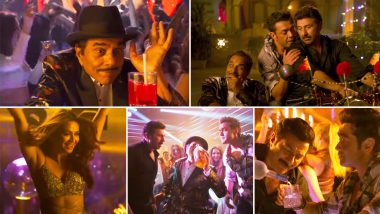 Yamla Pagla Deewana Phir Se Song Little Little: Dharmendra, Sunny and Bobby Deol Are Having Too Much Fun In This Racy Party Track - Watch Video