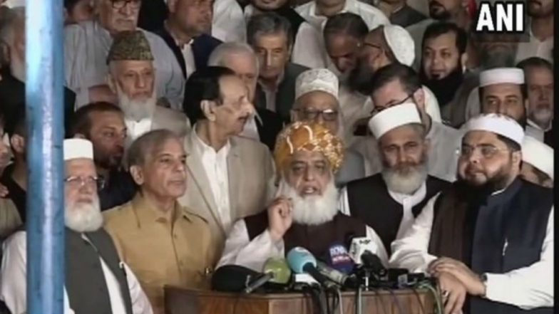 Ahead of Imran Khan Oath-Taking Ceremony, Pakistan's Opposition Likely to Hold All-Party Meet Tomorrow