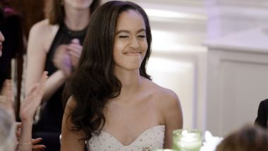 Malia Obama Spotted Vaping With British Boyfriend Rory Farquharson in London