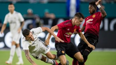 International Champions Cup 2018: Manchester United Defeats Real Madrid 2–1 As They Wrap Up US Tour on a High