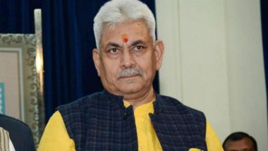 Telecom Minister Manoj Sinha Blames People Obstructing Mobile Tower Installation for Call Drops