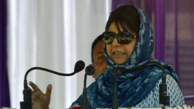 Mehbooba Mufti Takes a Dig at Supreme Court After Order on Aarey, Says 'Trees Greater than Kashmiri Lives'