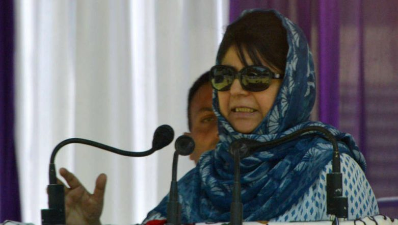Mehbooba Mufti to Contest From Anantnag Constituency in Lok Sabha Elections 2019