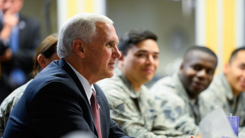 U.S. Vice President Mike Pence Announces Decision to Launch A 'Space Force'
