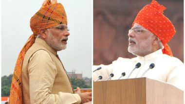 Independence Day 2018: Take a Look at PM Modi's I-Day Turbans