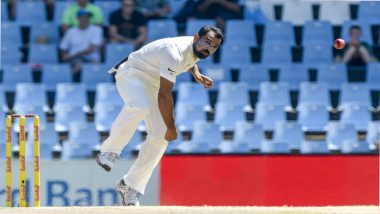 Mohammed Shami Breaks into Top-10 in ICC Test Bowlers Rankings