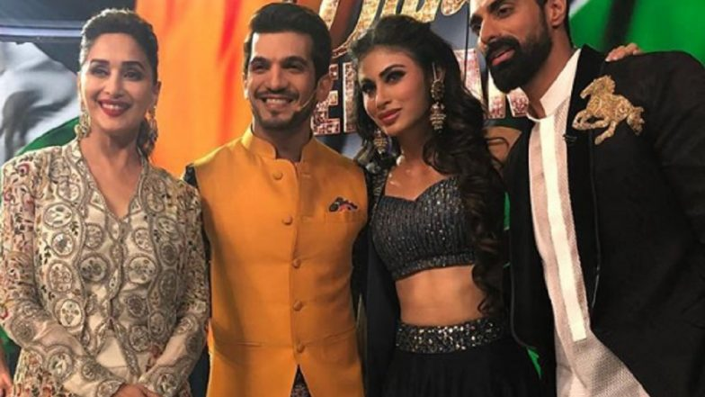 Mouni Roy and Arjun Bijlani Shaking a Leg to Gold's Song Naacho Na Monobina in Dance Deewane Will Make You Miss Their Naagin Days – Watch Video