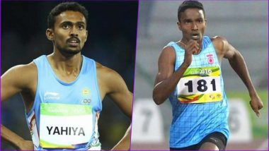 Muhammed Anas and Arokia Rajiv Move to Men's 400m Semis, Chetan Qualifies for High Jump Final of Asian Games 2018