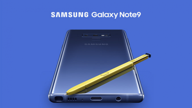 Samsung Galaxy Note 9 to be Launched in India on August 22