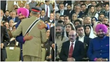 Sedition Case Filed Against Navjot Singh Sidhu In Muzaffarpur For Hugging Pakistani Army Chief
