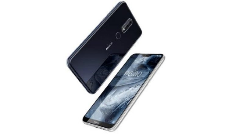 Nokia 6.1 Plus Smartphone Online Sale Starts Today at 12 PM Exclusively on Flipkart