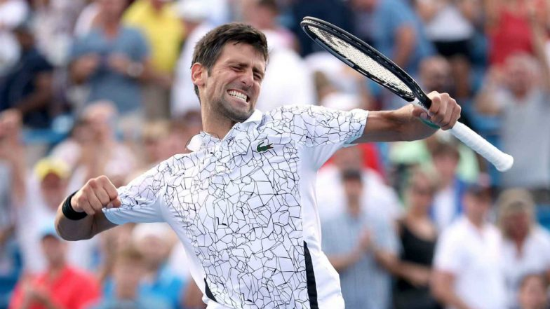 Novak Djokovic makes history with Cincinnati Masters victory over Roger Federer