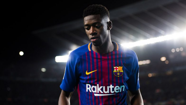 Ousmane Dembele Adds to Barçelona's Attacking Woes Ahead of La Liga Match Against Real Betis