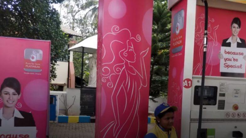 Mangaluru Gets An All-Women Managed Pink Petrol Pump by Bharat Petroleum