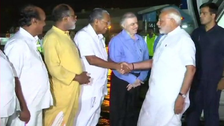 PM Modi Arrives in Flood-Ravaged Kerala as Death Toll Mounts to 324