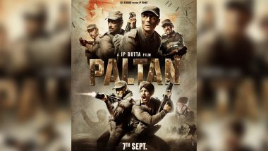 Paltan: Arjun Rampal, Gurmeet Choudhary and Harshvardhan Rane's War Drama Gets News Poster; Trailer Out on August 2