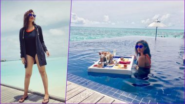 Parineeti Chopra Vacations in Maldives! See Pictures of the Actress Enjoying Clear Skies and the Blue Ocean