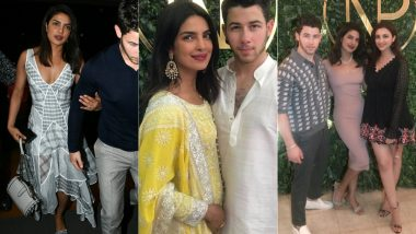 Priyanka Chopra's Three Gorgeous Looks Before, During And After Her Roka With Nick Jonas That's Foxy And Glamorous - View Pics