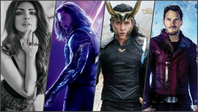 Priyanka Chopra and Her Avengers' Connection! Movie With the Star-Lord, Dance With Loki and Interview With Winter Soldier!
