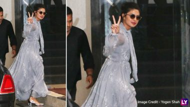 Priyanka Chopra's Gorgeous Blue Gown Will Take Your Mind Straight To The Cinderella Fantasy Tale - View Pics