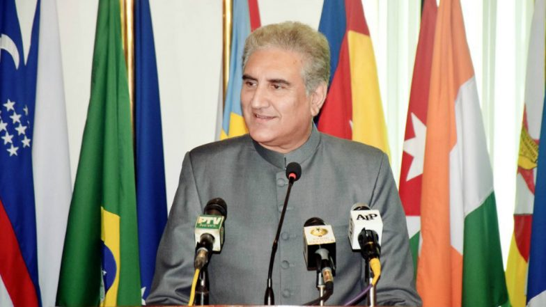 Pakistan Rejects India's Objection on Shah Mehmood Qureshi's Call to Mirwaiz Umar Farooq