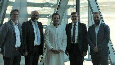Rahul Gandhi in Germany: Congress President to Address Indian Overseas Congress in Berlin