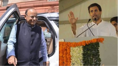 Rahul Gandhi Reminds Arun Jaitley of 'Deadline on JPC' on Rafale Deal, Tweets 'Less Than 6 Hours to go'