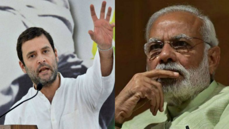 Rahul Gandhi Says PM Narendra Modi Is Scared of Xi Jinping After China Shields Masood Azhar Again, BJP Hits Back
