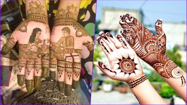Raksha Bandhan 2018 New & Easy Mehndi Designs: Simple Mehandi Patterns for Sisters to Apply on Hands to Celebrate Rakhi Festival (Watch Video Tutorials)