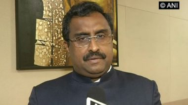 Jammu and Kashmir: Terrorists Harming Interests of Locals by Attacking Traders Who Come to Kashmir for Work, Says BJP Leader Ram Madhav