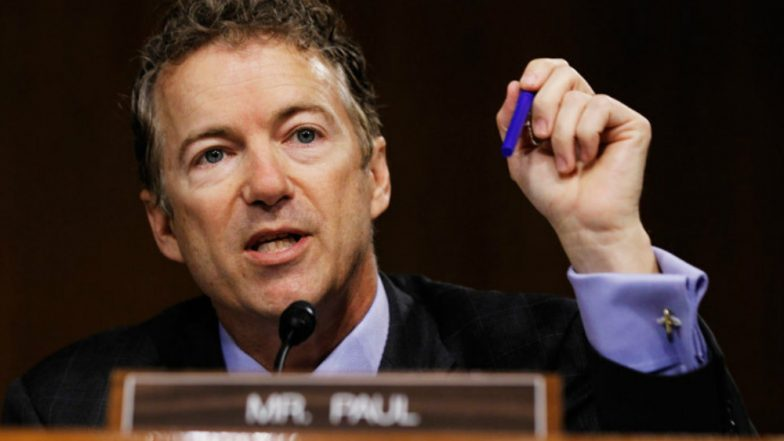 US Senator Rand Paul Seeks Dialogue With Russian Legislators