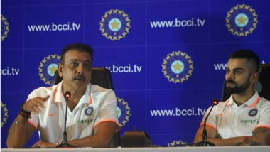 Ravi Shastri Admits Kuldeep Yadav's Selection Goof Up, Shares Updates on Virat Kohli's Injury Ahead of Third Test Match Against England (Watch Video)