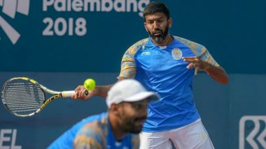 Rohan Bopanna and Divij Sharan Wins GOLD Medal in Men's Doubles Finals at Asian Games 2018, India's Medal Tally 22