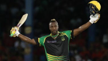CPL 2018 Video Highlights: Andre Russell's Century, Hat-trick and Stunning Catch Takes Jamaica Tallawahs to Victory Against Trinbago Knight Riders!