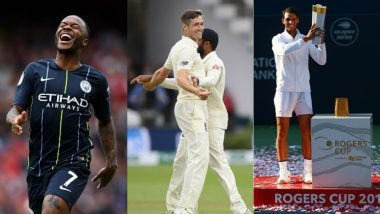 Sports Round-Up August 5 to 12: EPL Match Results, India Test Defeat & Rafael Nadal's Rogers Cup Title Win Dominate the Week