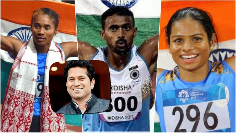 Sachin Tendulkar Keeps Tab on India's Asian Games 2018 Medal Tally! Tweets Medal Count to Motivate Athletes at Jakarta Palembang